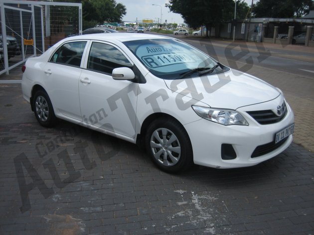 Used Toyota-Corolla-1.6 Manual 2012 for Sale in Gauteng-Centurion (46354)