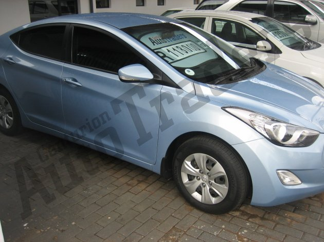 Used Hyundai-Elantra-1.6 GLS Manual 2012 for Sale in Gauteng-Centurion (46363)